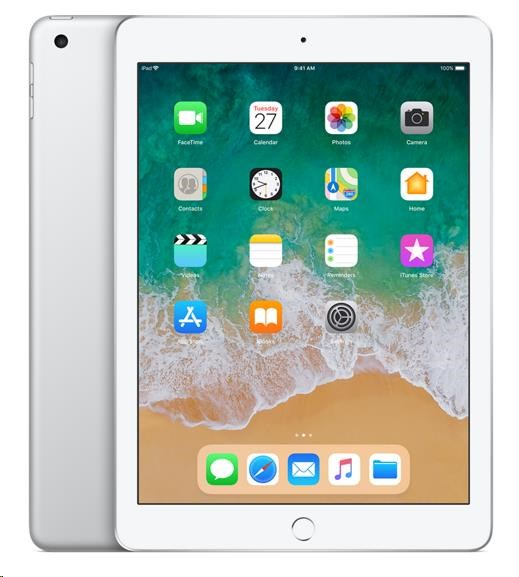 APPLE iPad Wi-Fi 32GB - Silver (verze 2018/03) mr7g2fd/a