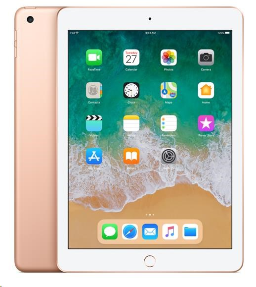 APPLE iPad Wi-Fi 32GB - Gold (verze 2018/03) mrjn2fd/a