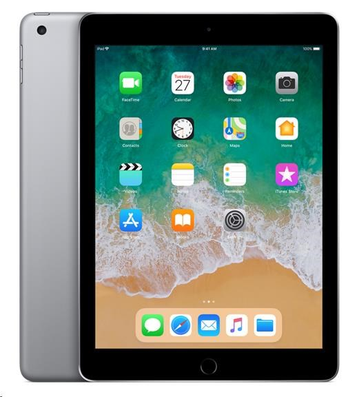 APPLE iPad Wi-Fi 128GB - Space Grey (verze 2018/03) mr7j2fd/a