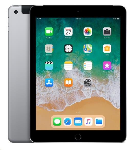 APPLE iPad Wi-Fi + Cellular 32GB - Space Grey (verze 2018/03) mr6n2fd/a