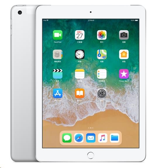 APPLE iPad Wi-Fi + Cellular 32GB - Silver (verze 2018/03) mr6p2fd/a