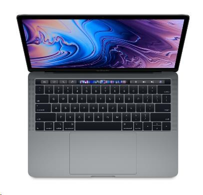 "APPLE MacBook Pro 13"" Touch Bar/QC i7 2.7GHz/16GB/512GB SSD/Intel Iris Plus Graphics 655/Space Grey"