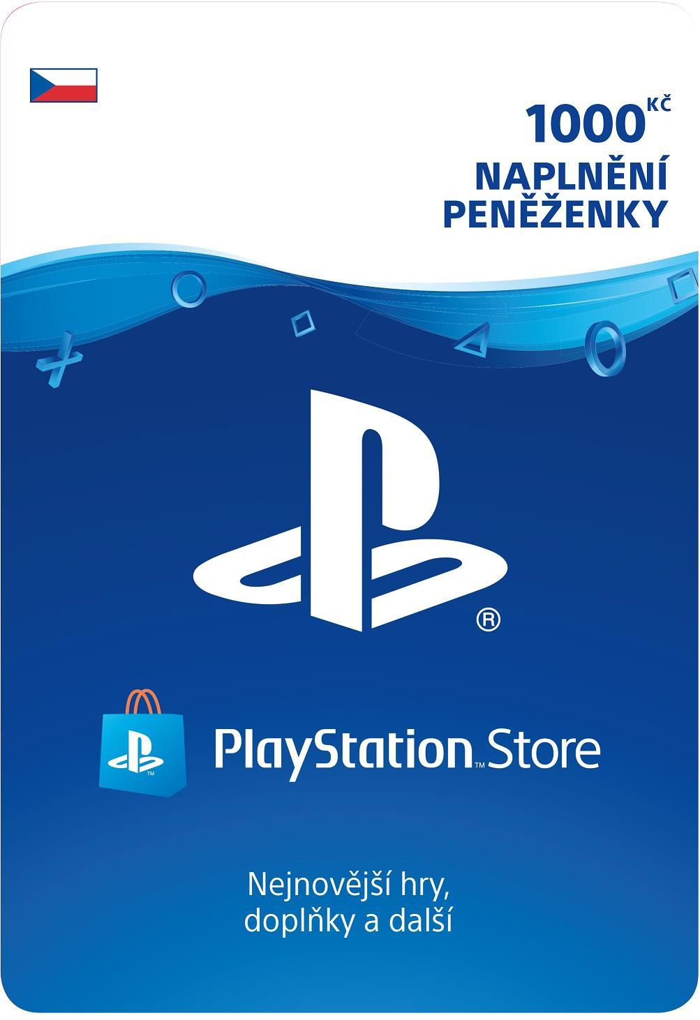 SONY PlayStation Live Cards Hang 1000,- CZK (PS719894032)
