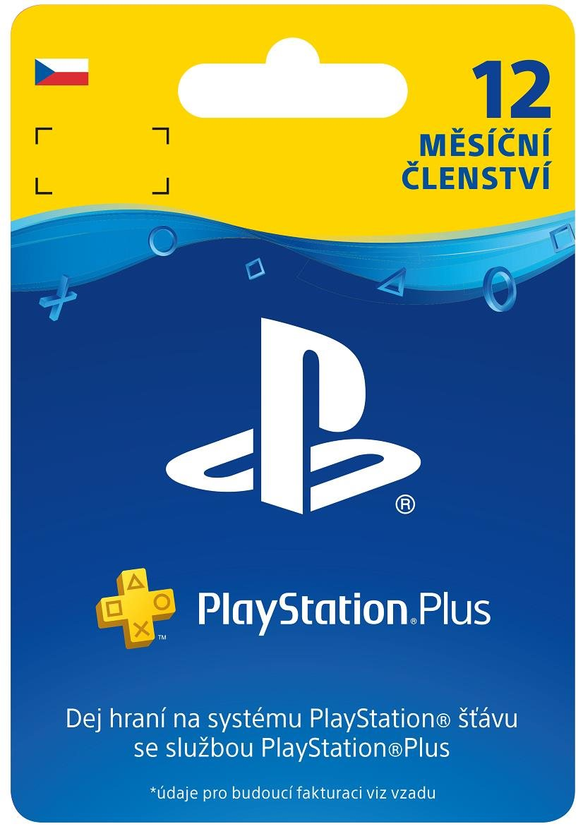 SONY PlayStation Plus Card Hang 365 dní (CZE) (PS719807346)