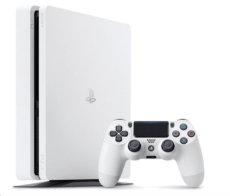 SONY PlayStation 4 (E Chassis) - 500GB - bílý (PS719894162)