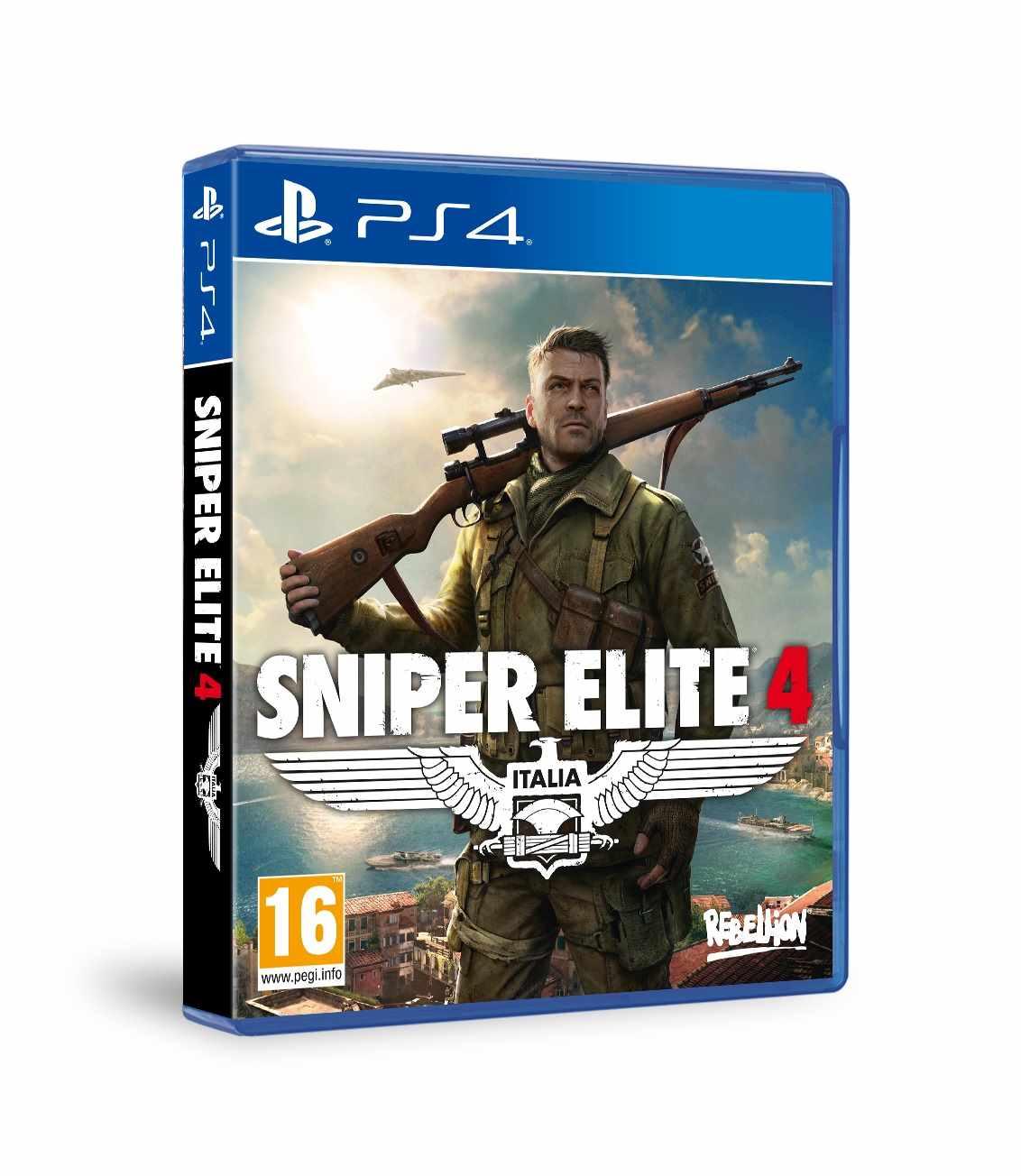 SONY PS4 hra Sniper Elite 4