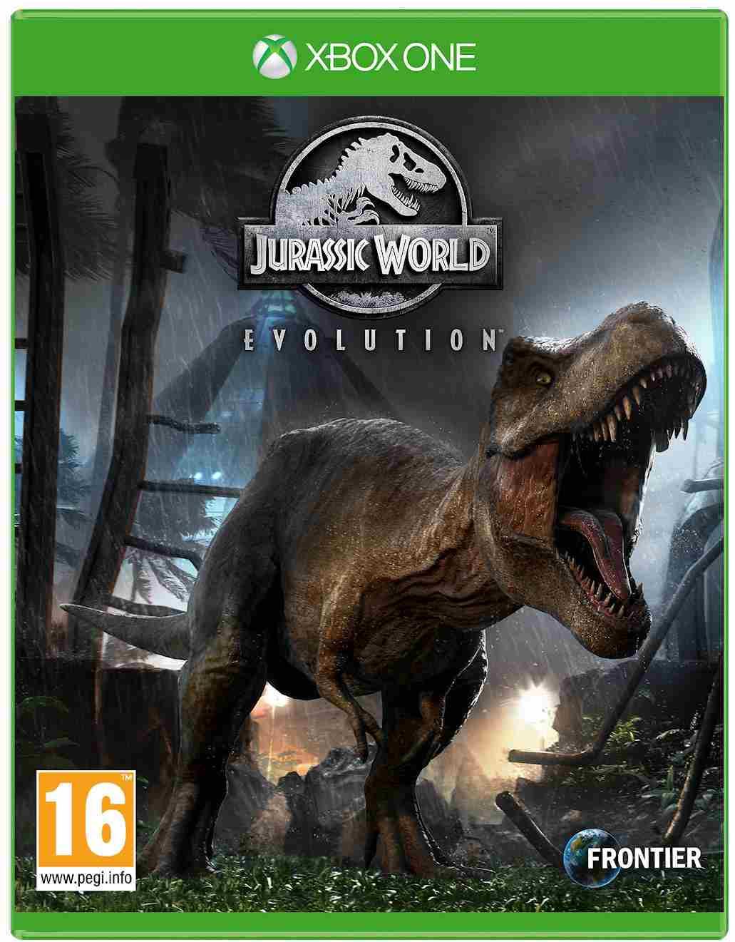 XBOX One hra Jurassic World Evolution