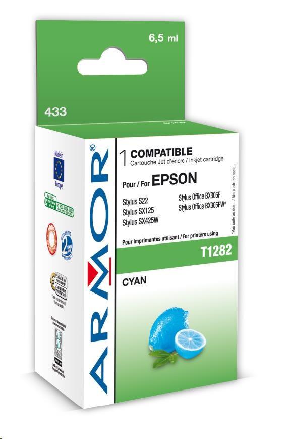 ARMOR cartridge pro EPSON Stylus S22, SX125 Cyan (T128240) 6,5 ml (K12589)