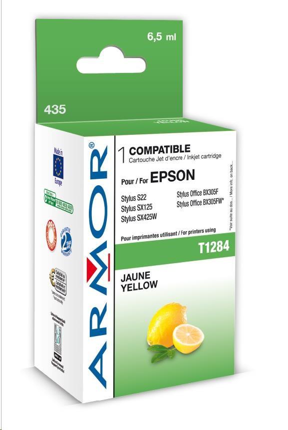 ARMOR cartridge pro EPSON Stylus S22, SX125 Yellow (T128440) 6,5 ml (K12591)