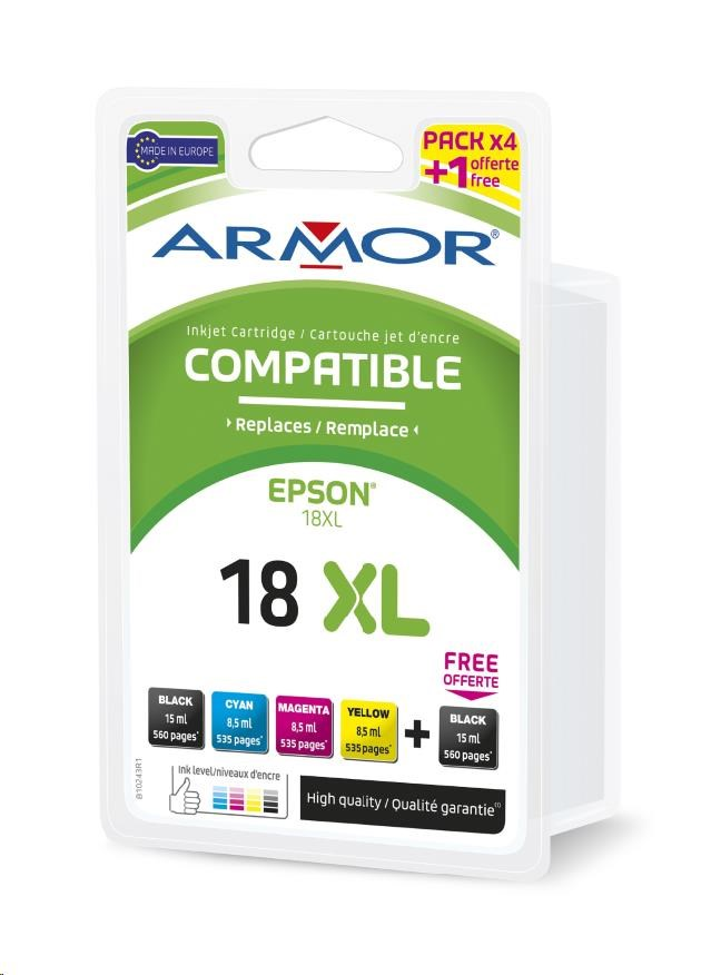 ARMOR cartridge pro EPSON XP102/402 Multipack (2xBlack 1x/C/M/Y ) (B10243R1)