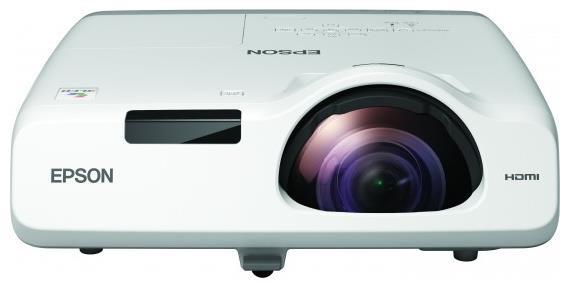 EPSON projektor EB-530, 1024x768, 3200ANSI, HDMI, VGA, LAN, SHORT, 10.000h ECO životnost lampy, REPRO 16W (V11H673040)