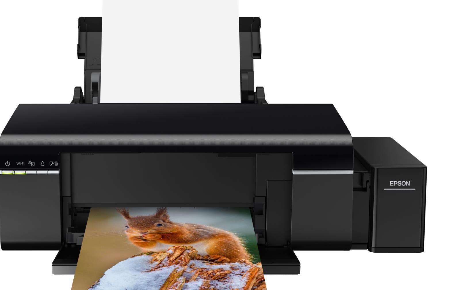 EPSON tiskárna ink L805, A4, 38ppm, 6ink, USB, WI-FI, TANK SYSTEM-3 roky záruka po registraci (C11CE86401)