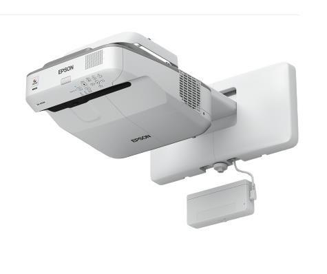 EPSON projektor EB-695Wi - 1280x800, 3500ANSI, HDMI, VGA, SHORT, LAN,9000h ECO životnost lampy, int