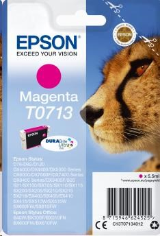 EPSON ink bar Singlepack Magenta T0713 DURABrite Ultra Ink (5,5 ml) (C13T07134012)
