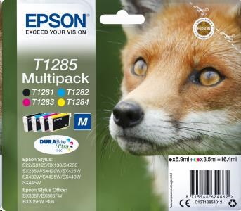 EPSON ink Multipack 4-colours T1285 DURABrite Ultra Ink (C13T12854012)