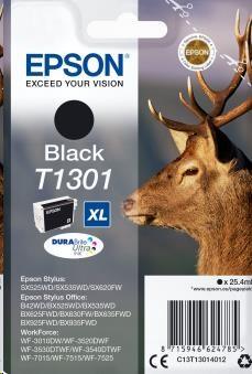 EPSON ink čer Singlepack Black T1301 DURABrite Ultra Ink (25,4 ml) (C13T13014012)