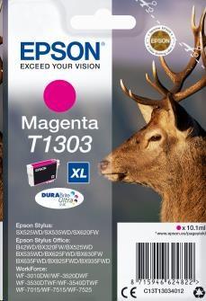EPSON ink bar Singlepack Magenta T1303 DURABrite Ultra Ink (10,1 ml) (C13T13034012)