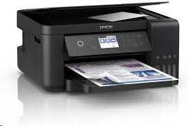 EPSON tiskárna ink L6160, 3in1, CIS, A4, 33ppm, 4ink, USB, Wi-Fi, Ethernet, LCD touch-panel, 3 roky záruka po registraci (C11CG21402)