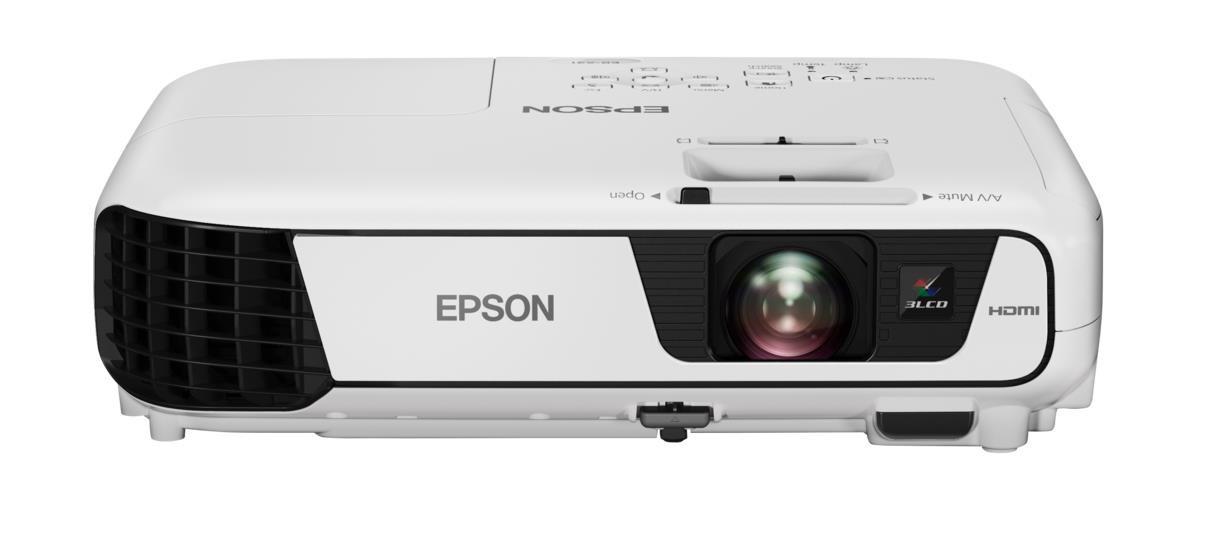 EPSON projektor EB-X41, 1024x768, 3600ANSI, 15.000:1, HDMI,USB 3-in-1 (V11H843040)