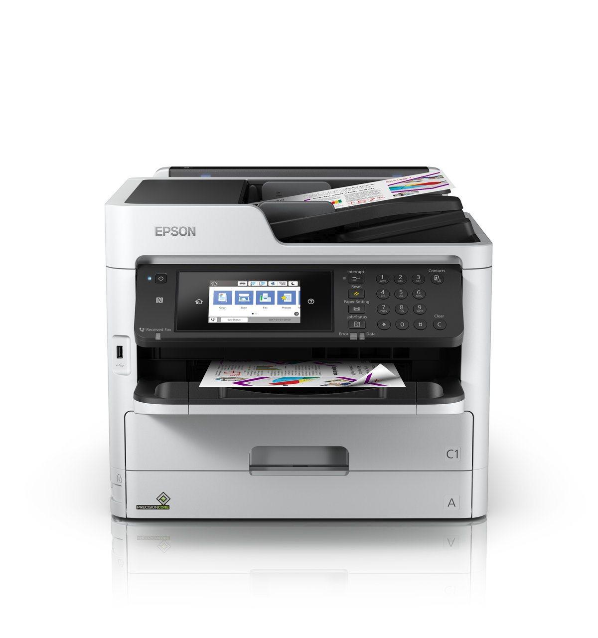 EPSON tiskárna ink WorkForce Pro WF-C5790DWF A4, 34ppm, 1200x4800, CIS, USB, NET, WIFI, NFC, DUPLEX, 4in1 MULTIFUNKCE)