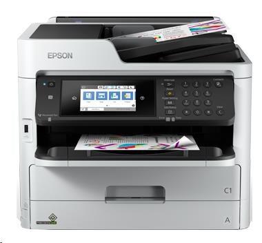 EPSON tiskárna ink WorkForce Pro WF-C5710DWF, 4in1, A4, 4ink, CIS, USB, LAN, WIFI, NFC, Ethernet