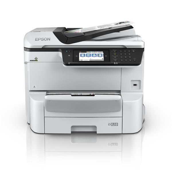 EPSON tiskárna ink WorkForce Pro WF-C8610DWF , (A3+,4ink, USB, NET, WIFI, DUPLEX,PCL, MULTIFUNKCE)