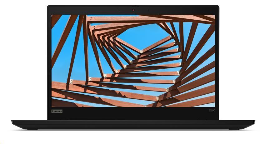 "LENOVO TP X390 - i7-8565U@1.8GHz,13.3"" FHD IPS mat,16GB,512SSD,noDVD,Intel HD,HDMI,LAN,DP,LTE,backl,W10P,3y carryin"