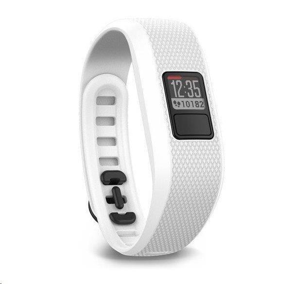 Garmin monitorovací náramek a hodinky vívofit3 White (vel. L)