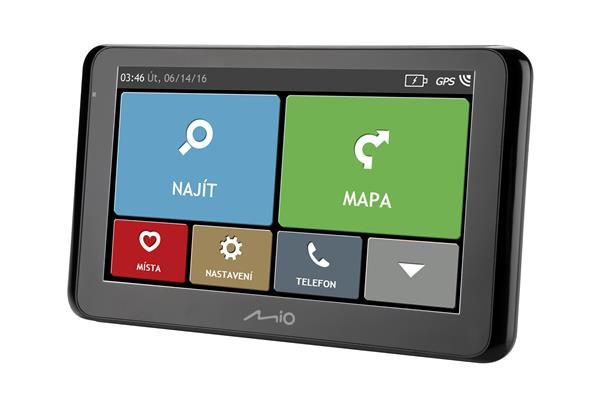 MIO Spirit 8670 Full Europe + Lifetime map voucher, RDS-TMC, Bluetooth (5262N5380011)