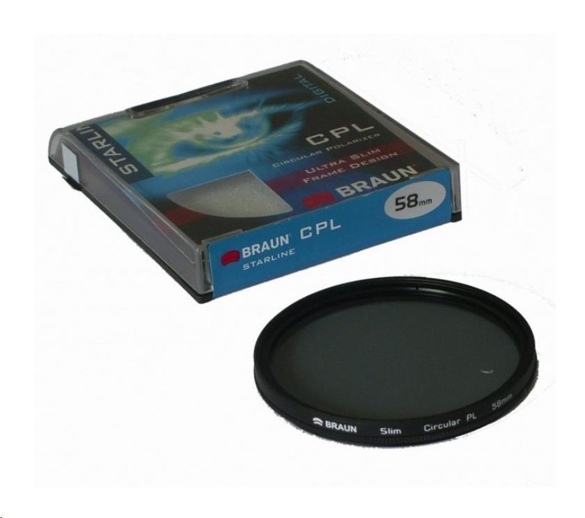 Braun filtr C-PL StarLine 62 mm (FB14243)