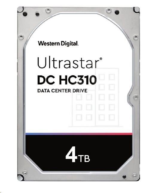 Western Digital Ultrastar® HDD 4TB (HUS726T4TALA6L4) DC HC310 3.5in 26.1MM 256MB 7200RPM SATA 512N SE (GOLD WD4002FYYZ)