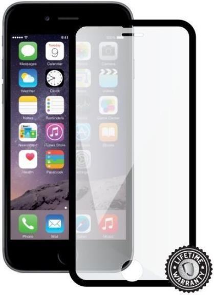 ScreenShield ochrana displeje Tempered Glass pro Apple iPhone 7, černá (kovový okraj) (APP-TGFCBMFIPH7-D)