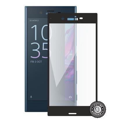 ScreenShield ochrana displeje Tempered Glass pro SONY Xperia XZ F8331, černá (SON-TG3DBXPEXZ-D)