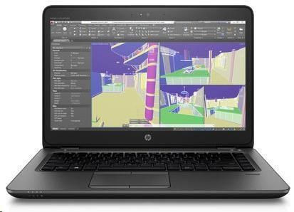 ZBook 14u G4 i5-7200U 14 FHD,1x8GB DDR4, 500GB , Intel HD+AMD FirePro W4190M/2GB, WiFi AC, BT, FPR, Win10Pro (1RQ67EA#BCM)