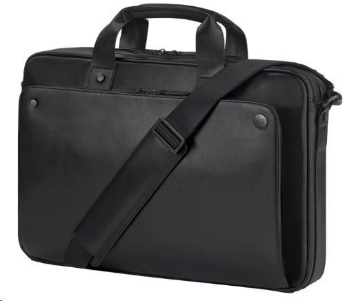 HP Executive 15.6 Black Leather Top Load (J&J) Case (1LG83AA)