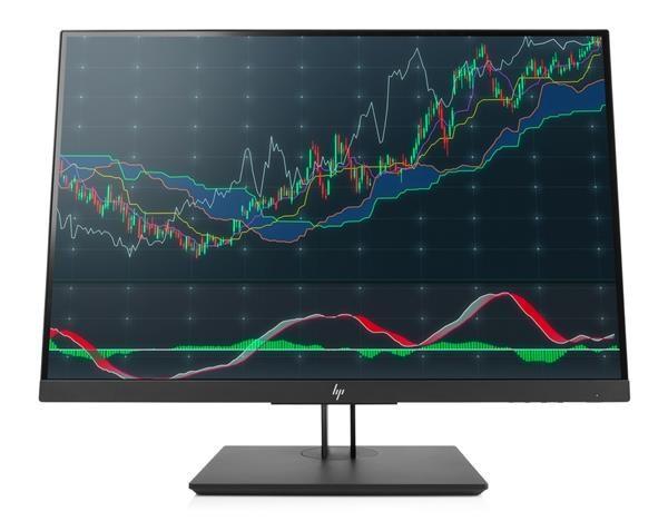 """HP LCD Z24n G2 Monitor 24"""" (1920x1200), IPS, 16:10,300nits, 5.8ms,1000:1,DP, DVI-D,HDMI, Daisy Chain, 3xUSB3.0,USB-C) (1JS09A4#ABB)"""