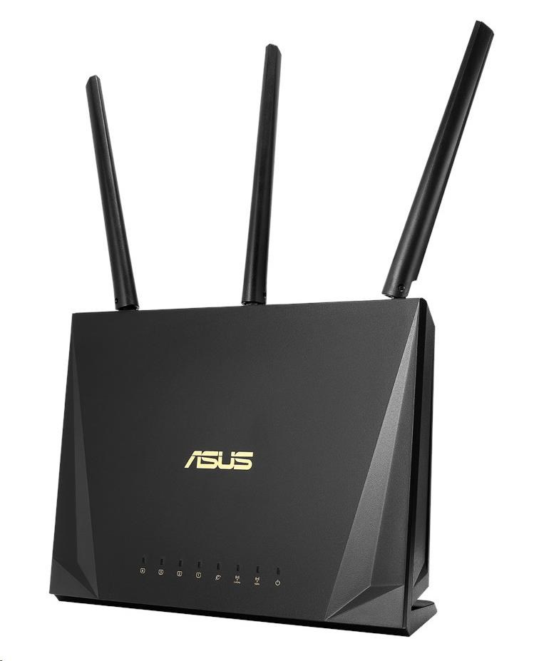 ASUS RT-AC65P Gigabit Dualband Wireless AC1750 Router, 4x gigabit RJ45, 1x USB3.1