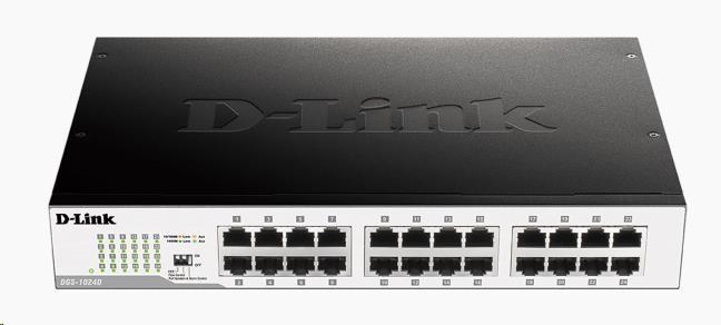 D-Link DGS-1024D 24-port 10/100/1000 Gigabit Desktop / Rackmount Switch (DGS-1024D/E)