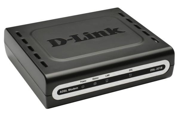 D-Link DSL-321B ADSL2+ Ethernet Modem (Annex B) (DSL-321B/EU)