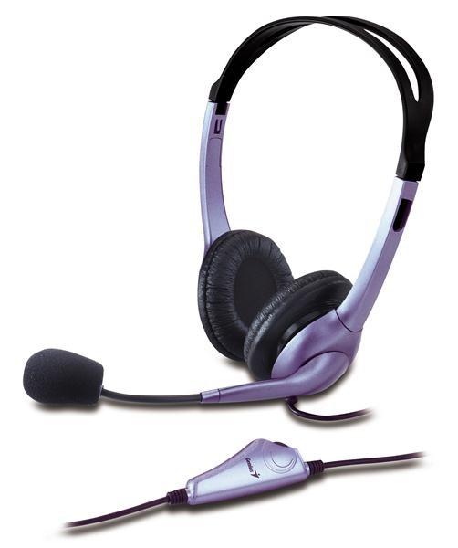 GENIUS sluchátka s mikrofonem HS-04S (31710025100)