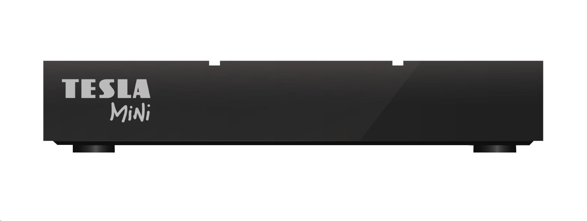 TESLA TE-380 mini, DVB-T2 HD přijímač s HEVC (H.265)