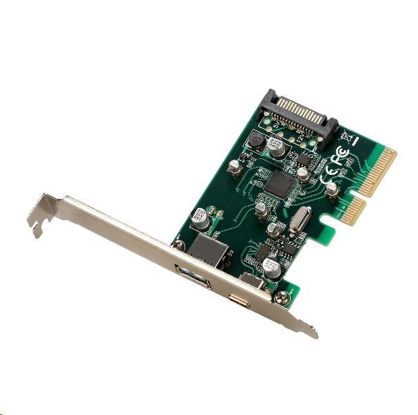 iTec PCIe Card USB 3.1 gen2 10Gps Card 1x Type C (PCE2U31AC)