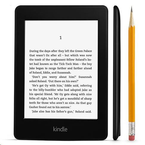 """Amazon Kindle Paperwhite 3 (černý), 6"""" 4GB E-ink displej, WIFi, PLNÁ VERZE S REKLAMOU (AKPW2s2015"""
