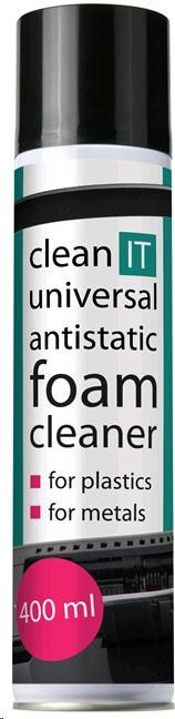CLEAN IT Antistatická čistící pěna na plasty a kov 400ml (CL-27)