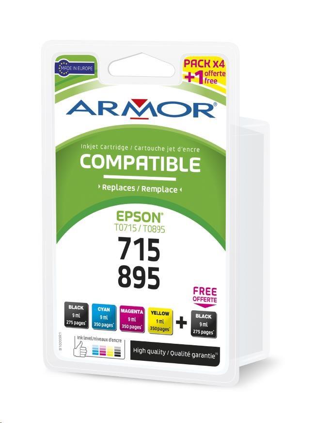 ARMOR cartridge pro Epson Stylus D78 2BK+1C+1M+1Y (T071x) (B10099R1)
