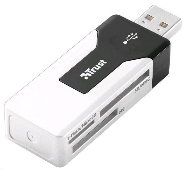 TRUST Čtečka paměťových karet Mini, USB (15298)