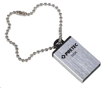 PRETEC USB 2.0 Flash Drive i-Disk Elite 16 GB (stříbrný) (E2T16G-1S)