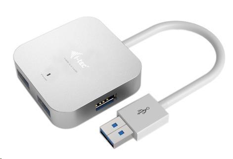 iTec USB 3.0 Hub 4-Port Metal - passive (U3HUBMETAL402)