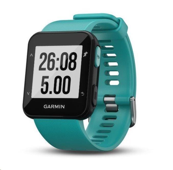 Garmin GPS sportovní hodinky Forerunner 30 Blue Optic (010-01930-04)