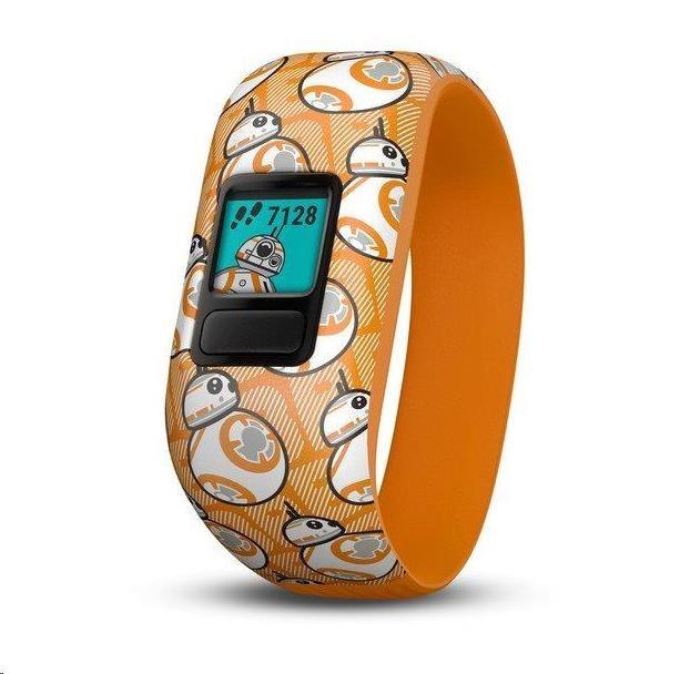 Garmin monitorovací náramek a hodinky vívofit junior2 BB-8 (Stretch)